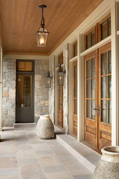 Like aesthetic. I like the stone used for this facade and wood doors. This house is by the architects Markalunas Architecture Group LLC (see their houzz.com page for other similar homes by Thomas J Markalunas, the owner)