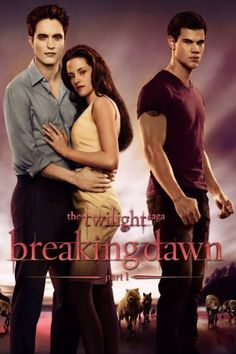 The Twilight Saga: Breaking Dawn - Part 1  Why does this cover look like a Sweet Valley High book?  Anyways, I thought the birth and rebirth scene were cool...