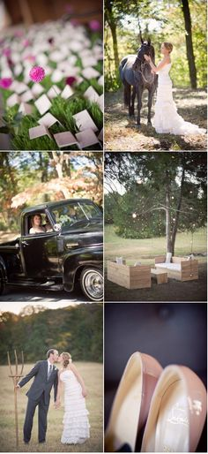 Nashville Wedding by Harwell Photography | Style Me Pretty