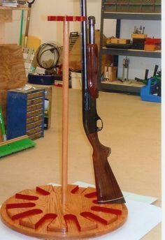 Custom Made Gun Rack Lazy Susan