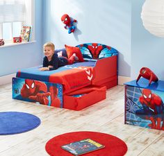 Spider Man Bed Canopy Spiderman Bedroom Girls Loft Bed