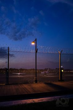 Night Photography Blog by Martin Liew: Not Quite Night series #57 – Moire Fencing