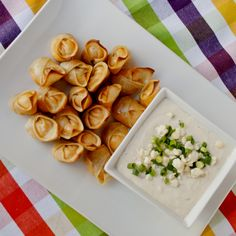 Buffalo Chicken Wontons - Modern take on classic recipes! 22 updated recipes that will surely make you drool.  - See more at: http://www.lesbananas.us/#sthash.b67wbkoH.dpuf