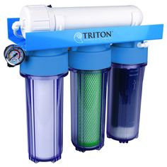 The Triton reverse osmosis 100 water filtration system is designed and built with a goal to deliver the highest quality, professional grade products, incorporating earth-friendly designs and component