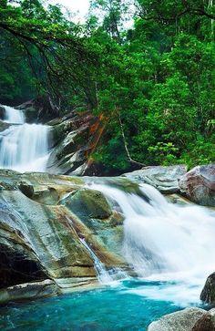 Josephine Falls. Queensland, Australia.