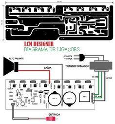 3 Diy Electronics, Electronics Projects, Home Theater Amplifier, Circuit Board Design, Hifi Amplifier, Speaker Box Design, Speaker Plans, Arduino, Circuit Diagram