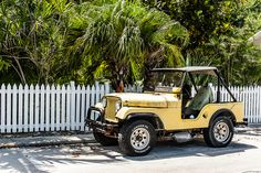 Well-loved Florida Jeep.
