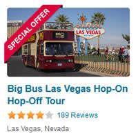 Big Bus Las Vegas Hop On Hop Off Tour