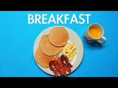 Café da manhã pelo mundo - vídeo - Diário de uma vida saudável