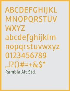 free fonts 2014 Rambla Alt