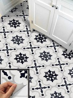 SNAZZYDECAL offers you a easy and quick way to update your home without the mess of knocking off the wall. Orders are in the pack of 12pc, 24pc or 40pc, in various sizes to fit your tile. You can also choose to make into temporary removable waterproof wallpaper roll in the size of 24in x