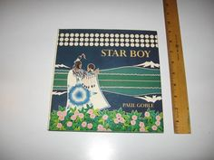 Star Boy - Retole and Illustrated by Paul Goble - Indian Folktale - 1983 Signed