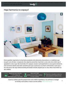 Homify Portugal | Fevereiro de 2016 Desta vez o destaque vai para a harmonia entre elementos decorativos e o mobiliário.