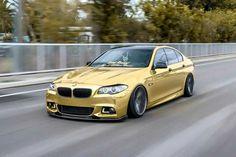 BMW F10 M5 gold