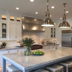 Interior Kitchen Design Kitchen sink facing TV or backyard.