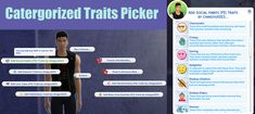 Sims 4 Traits, Friends With Benefits, Sims 4 Cc Finds, Sims Mods, Sims Cc, Life Organization, I Am Game, Give It To Me, Seasons