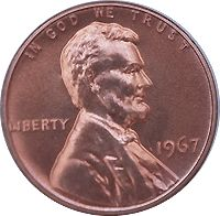 1967 Lincoln Penny Value