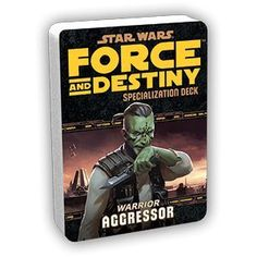 Star Wars: Force and Destiny RPG: Specialization Deck: Aggressor