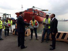 El Economista - Inician obras de ampliación de terminal de contenedores en Canal de Panamá
