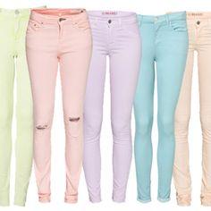 pastel jeans ( :
