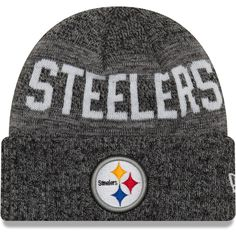 best loved c2f85 426ff Toddler Pittsburgh Steelers New Era Heathered Black Crisp Colored Cuffed  Knit Hat, Your Price   19.99