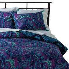 Reversible Blues and Purples...I'm not sure if its too dark for a room though