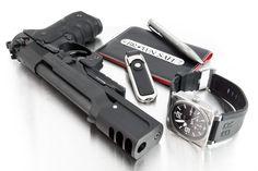 xetrokis: Beretta 92 avec compensateur (via TumbleOn) Weapons Guns, Guns And Ammo, Tactical Knives, Tactical Gear, Everyday Cutlery, Beretta 92, Tac Gear, Cool Guns, Self Defense