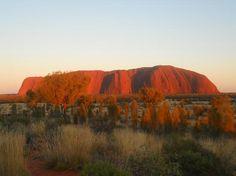 Uluru at sunrise #Australia