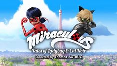 """""""It's Ladybug"""" is the opening theme song of Miraculous: Tales of Ladybug& Cat Noir. A shortened version of the song is in the opening, and a fuller version plays during the end credits. In order of appearance: Trivia The English version of the theme song has an alternate version with different lyrics., One version (with """"It's Ladybug"""") of the song is performed by Wendy Child and Cash Callaway. The other English version (With """"Miraculous"""") is performed by Brittnee Belt and Cash Callaway…"""