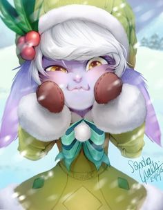 Christmas Tristana (League of legends)