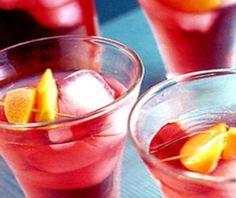 Woo Woo: 1 part vodka  1 part peach schnapps  4 parts cranberry juice  Ice