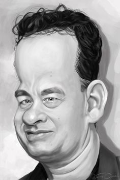 TOM HANKS by *JaumeCullell on deviantART