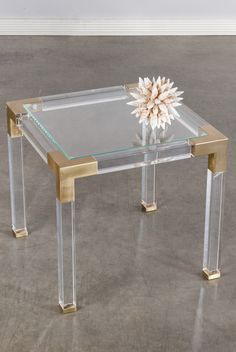39432 lucia acrylic side table acrylic legs for furniture
