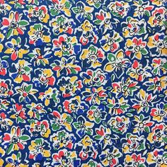 """sage quilt sew yardage strips 1yd x 9/"""" pale yellow red floral Cotton fabric"""