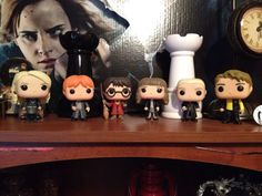 The expanding collection of Harry Potter Funko Pop figures
