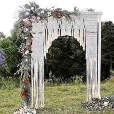 """2,335 """"Μου αρέσει!"""", 198 σχόλια - TREEOFLIFE.COM.AU (@treeoflife_love) στο Instagram: """"Macrame wedding arch...just because @edeneve.macrame  #romance #bohowedding #inspiration"""""""