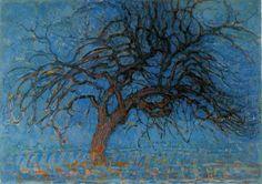 Piet Mondrian, Avond (Evening), Red Tree, 1908. Collection of Gemeentemuseum, The Hague.