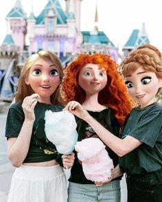 Cute Disney Drawings, Disney Princess Drawings, Disney Princess Pictures, Disney Pictures, Princesa Ariel Disney, Disney Rapunzel, Disney Girls, Disney Art, Disney Princess Fashion