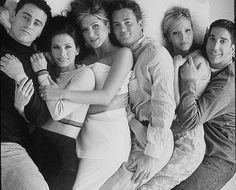 joey, monica, rachel, chandler, pheobe, ross