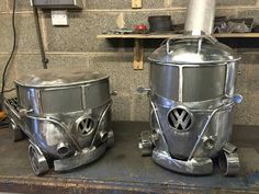 Wood burners and bbq's. VW Style