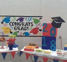 Decoraciones de graduación de Primaria Graduation, Vestidos, Rosettes, Decorations, Appetizers Table, Prom Party, Parties Kids, Parents, Moving On