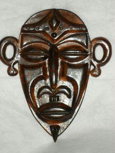 Máscara de Cerâmica Africana - Artes Rei.