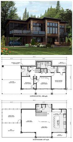 Contemporary House Plan 50344