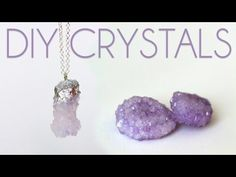 How to Grow Crystals - DIY Crystal Necklaces - YouTube