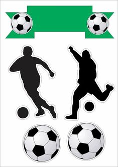 Soccer Birthday Parties, Football Birthday, Soccer Party, Soccer Birthday Cakes, Soccer Cake, Party Props, Party Themes, Paw Print Image, Soccer Silhouette