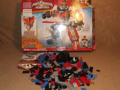 Sabans Power Rangers Megaforce Gosei Grand Megazord Mega Bloks 5782 Complete