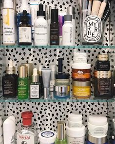 A little peek into my medicine cabinet  // What are some of your favorite products? I'm sharing a few new beauty faves on prettyandfun.com today  @liketoknow.it http://liketk.it/2qxvL #liketkit #ltkbeauty #itgtopshelfie