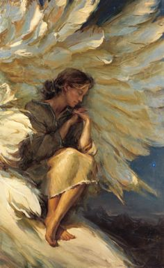 In the Shadow of Your Wings by Daniel Gerhartz~fabulous!!