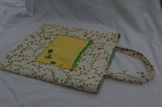 Tote Bag Hand sewn orange and yellow £15.00