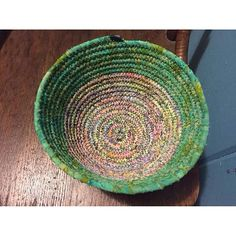 Decorative bowl batik and rope by: Missy Ashton